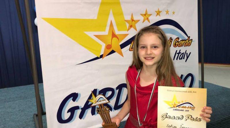 9-годишна варненка с  Grand Prix от музикален фест в Италия