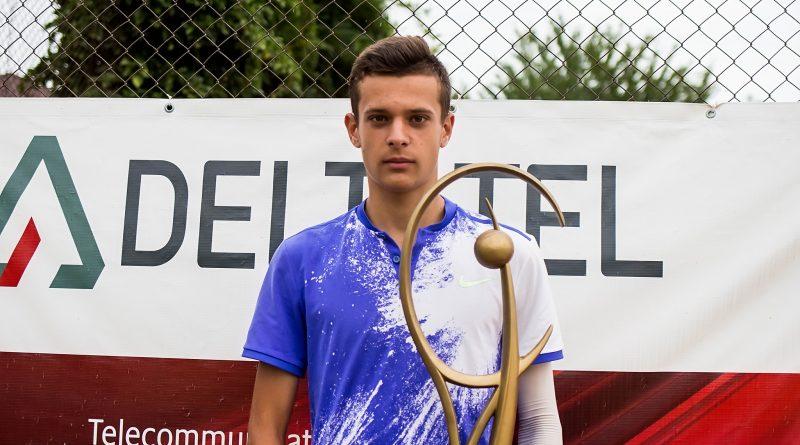 Първа титла за 16-годишния Симеон Терзиев от турнир на ITF, категория J3 в Румъния